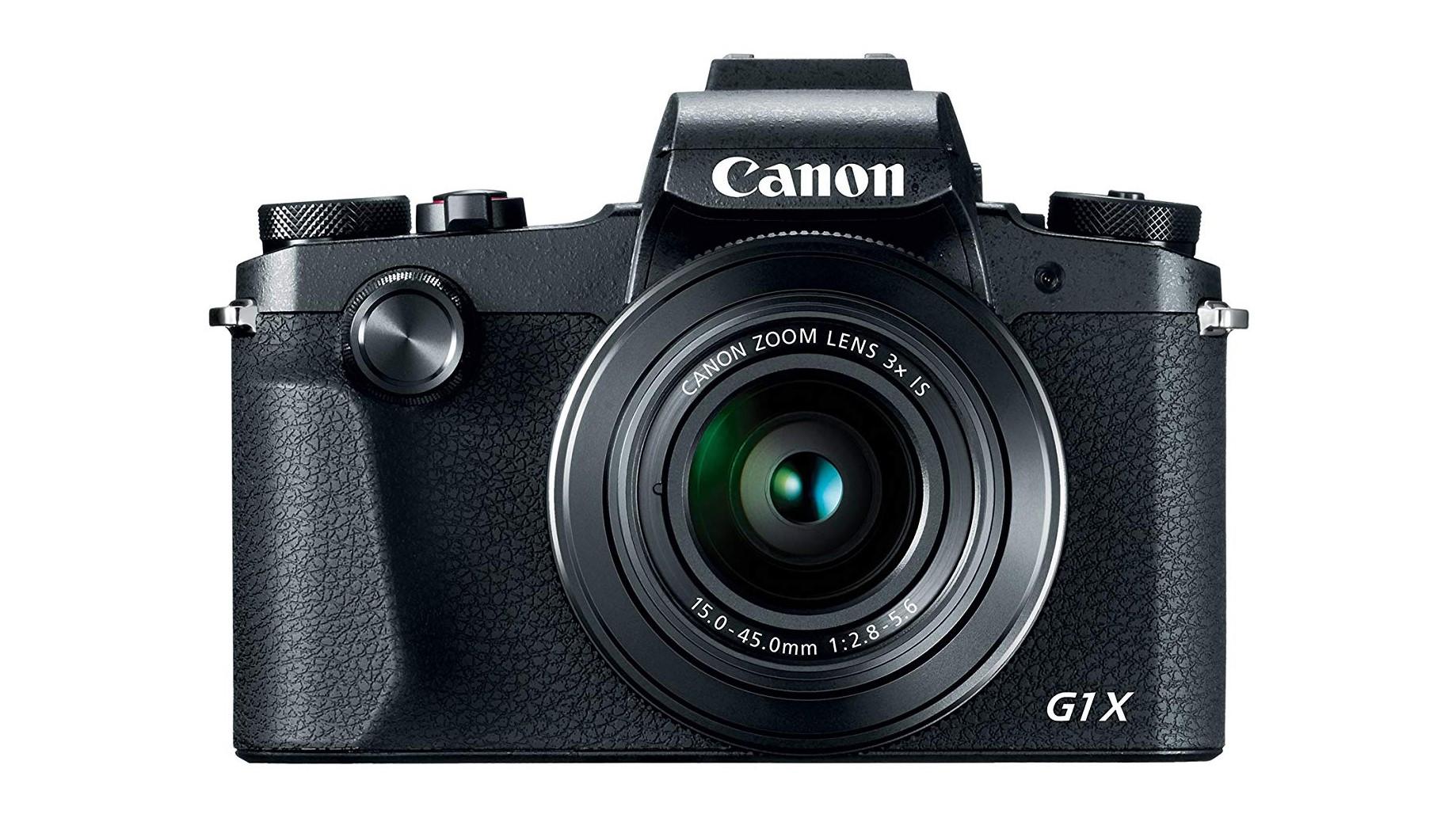 Canon Powershot G1 X Mark III point and shoot camera