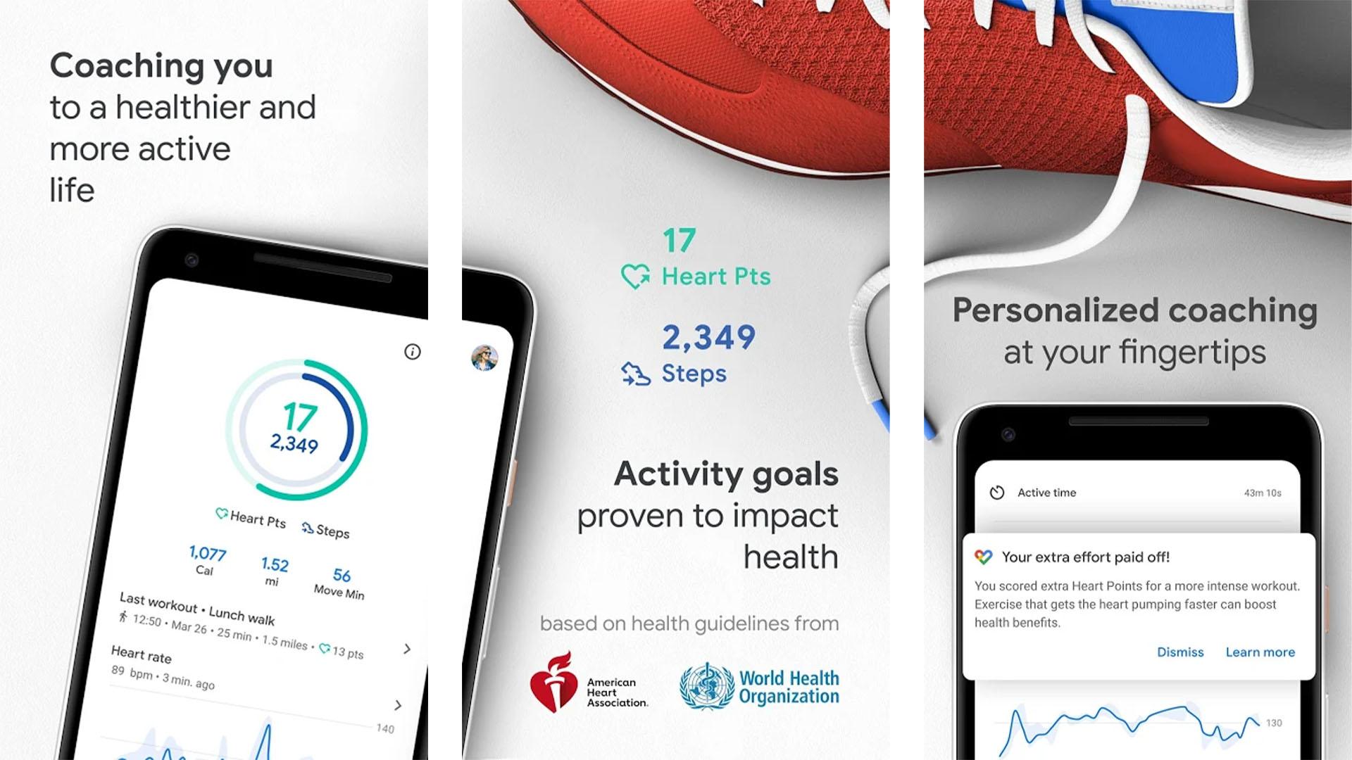 Google Fit screenshot 2020 2