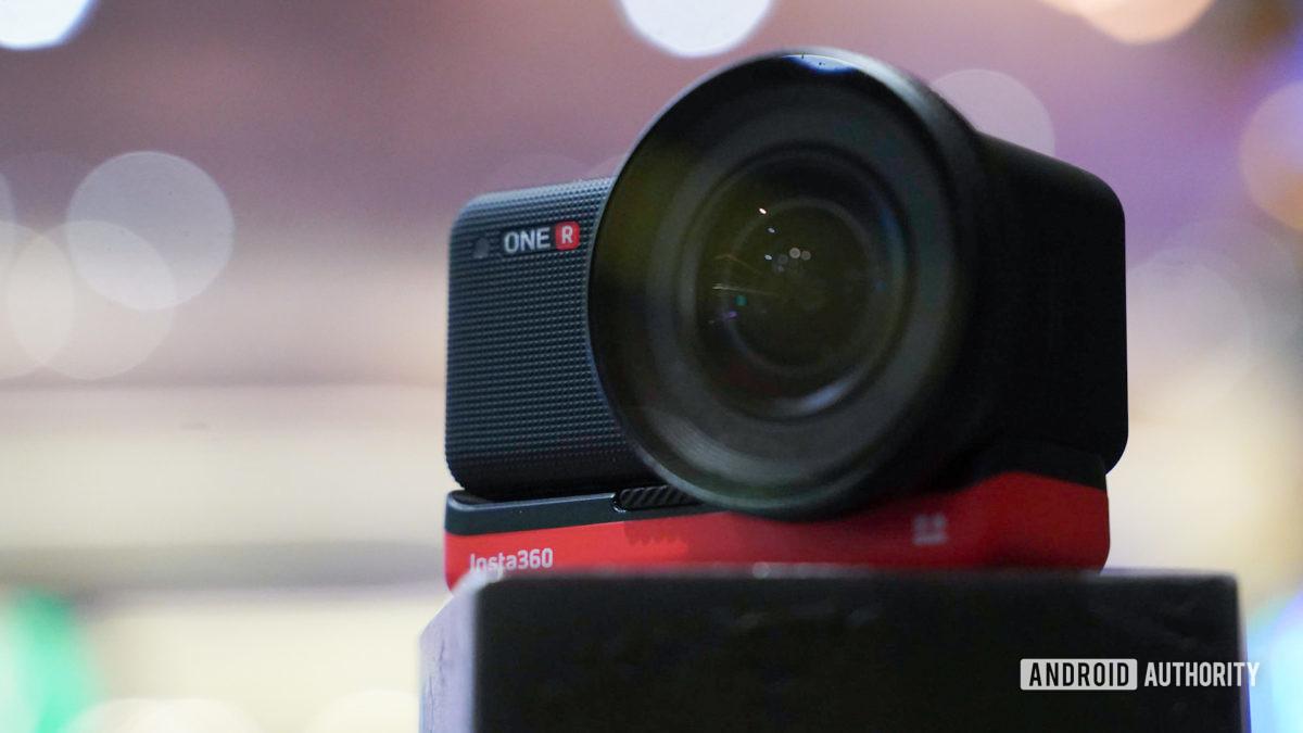 Insta360 One R Leica lens