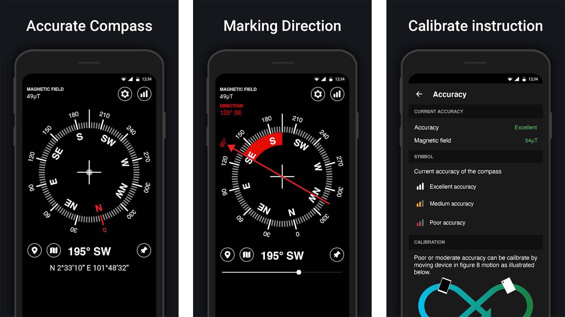 KWT Digital Compass screenshot 2020