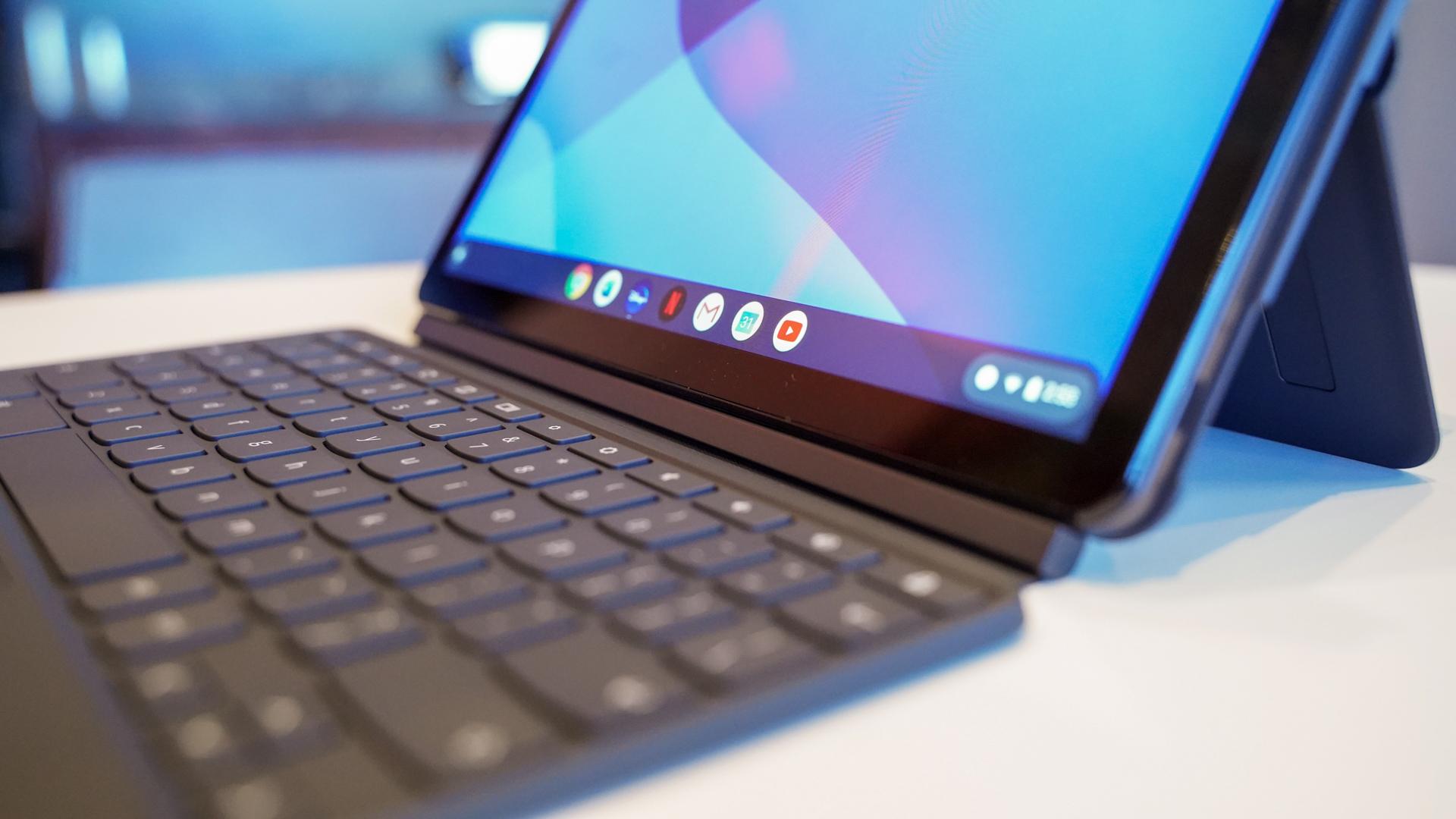 Lenovo IdeaPad Duet keyboard attachment