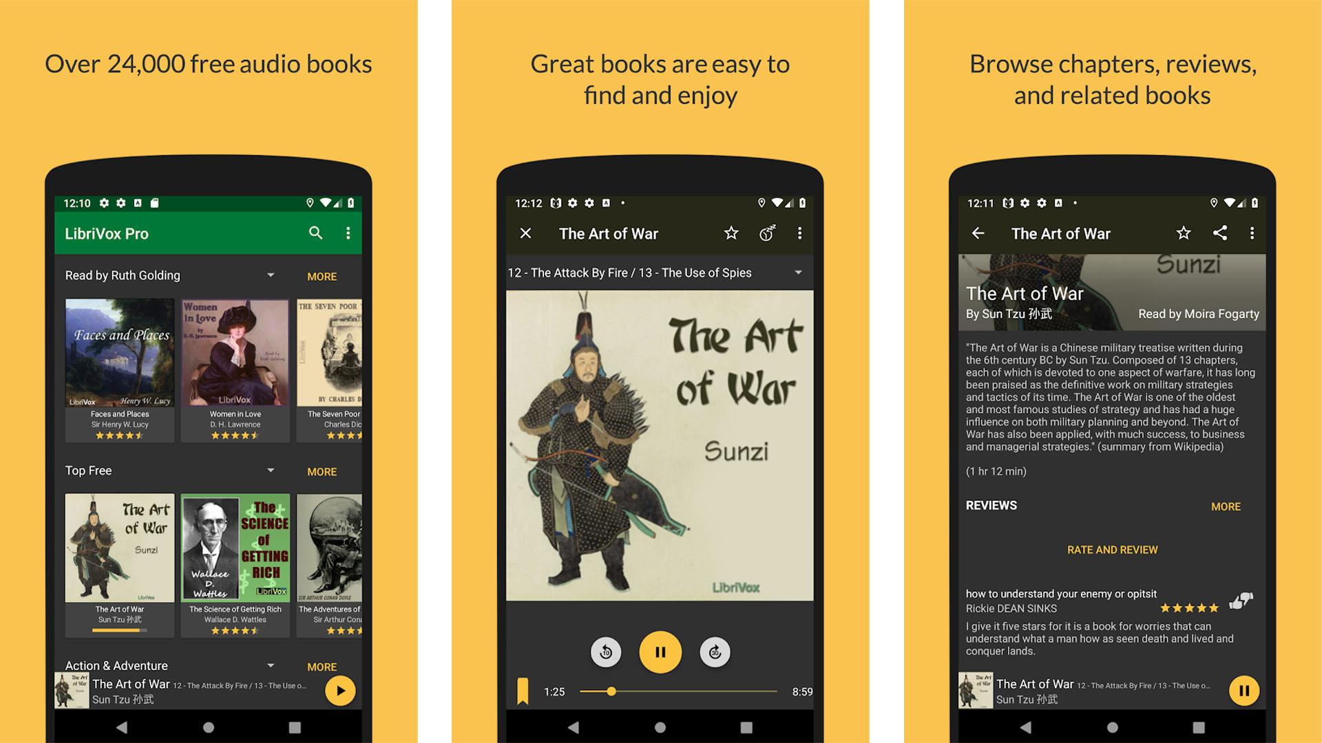 LibriVox Audio Books screenshot