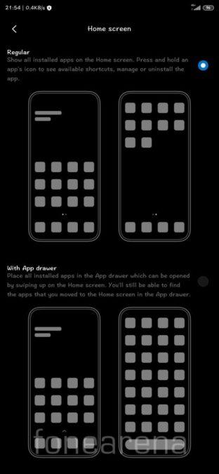 MIUI Launcher App Drawer FoneArena 1