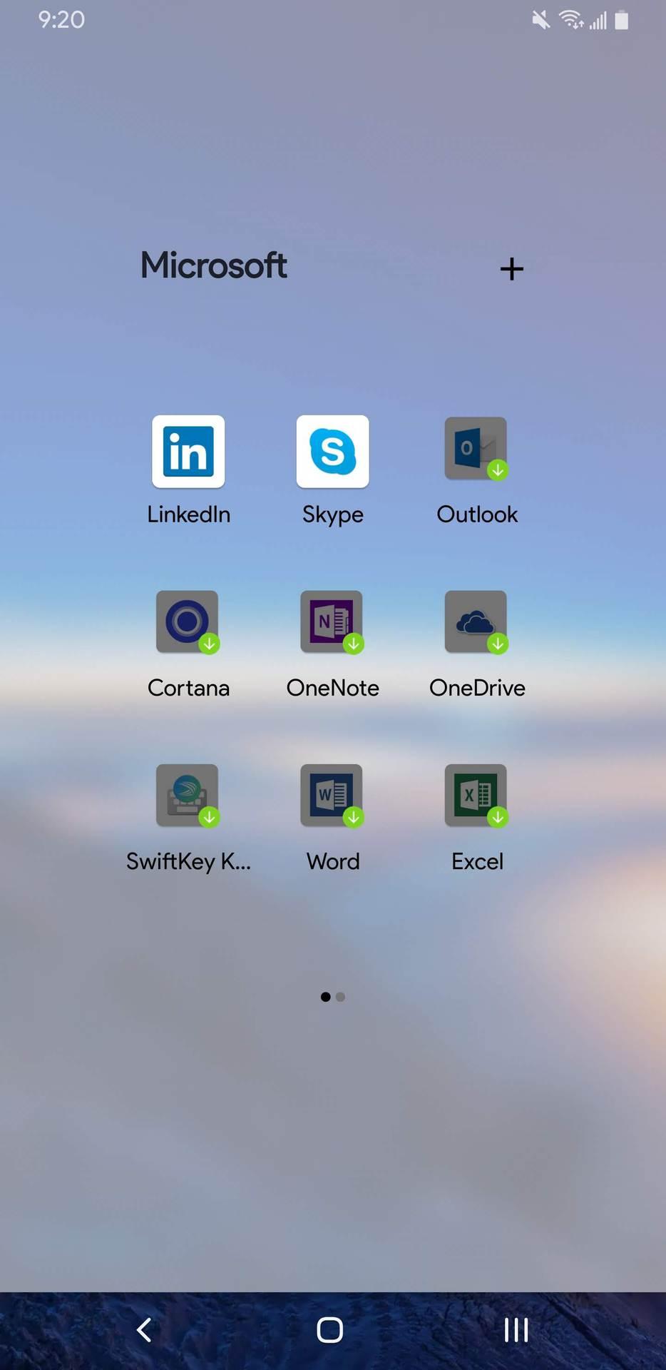 Microsoft Launcher download Microsoft apps