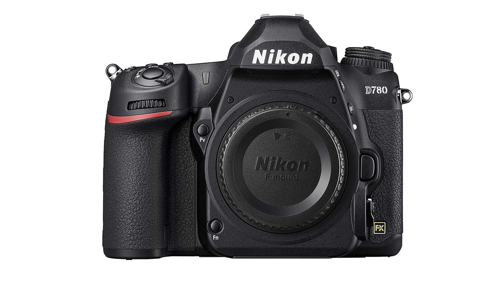 Nikon D780 DSLR touchscreen camera