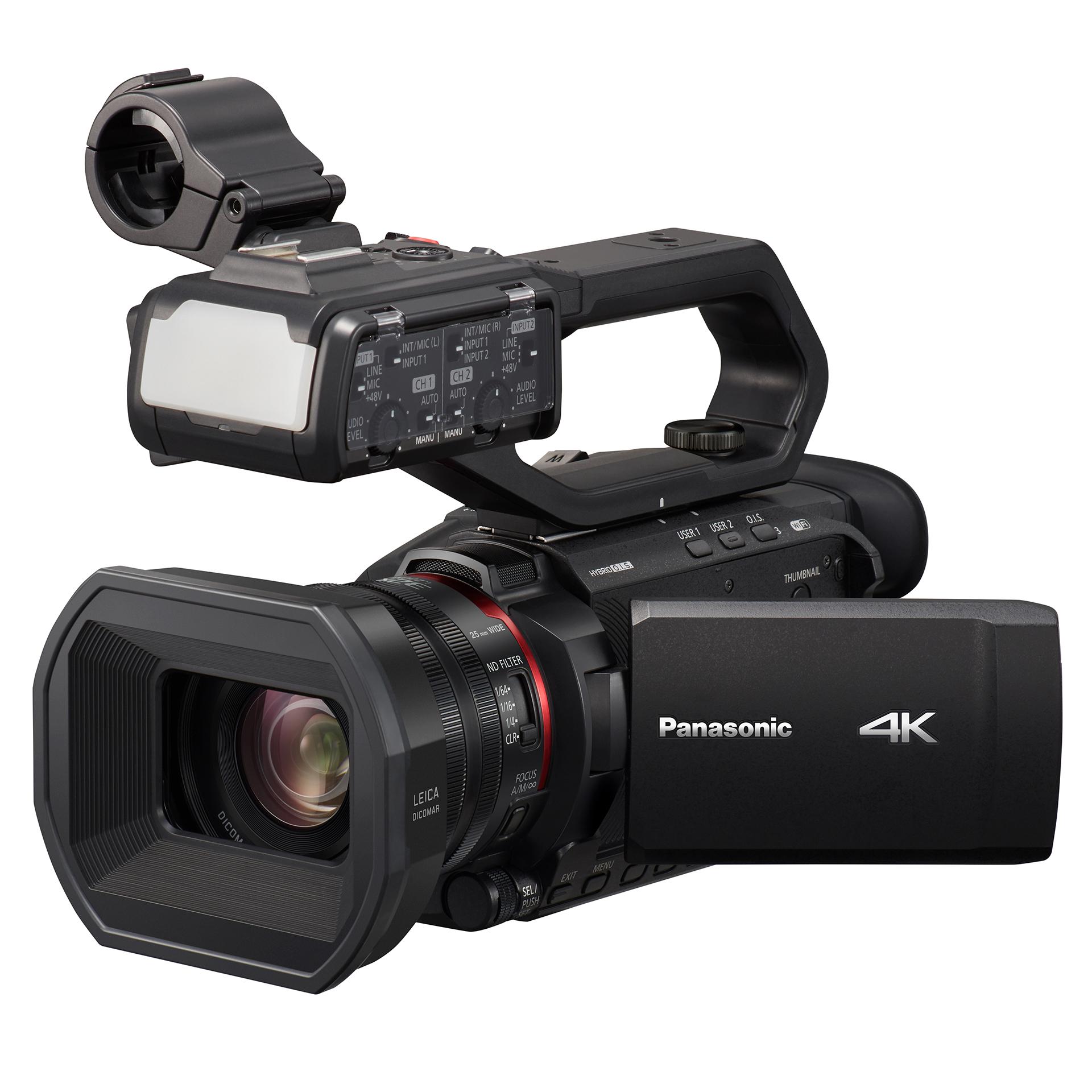 Panasonic HC X2000 camcorder product shot