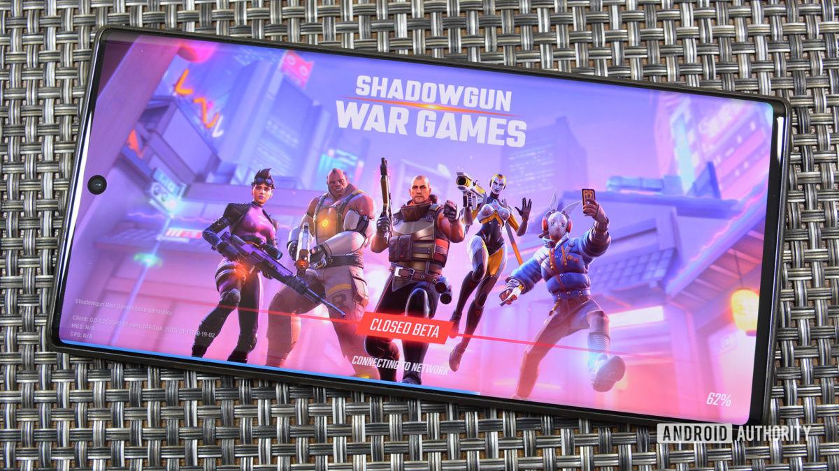 Shadowgun War Games is mobile games' version of Overwatch