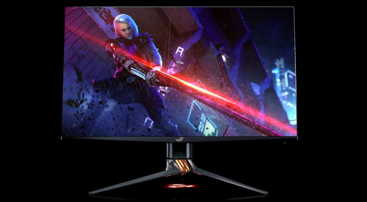 asus rog swift pg32 best pc monitors of ces 2020