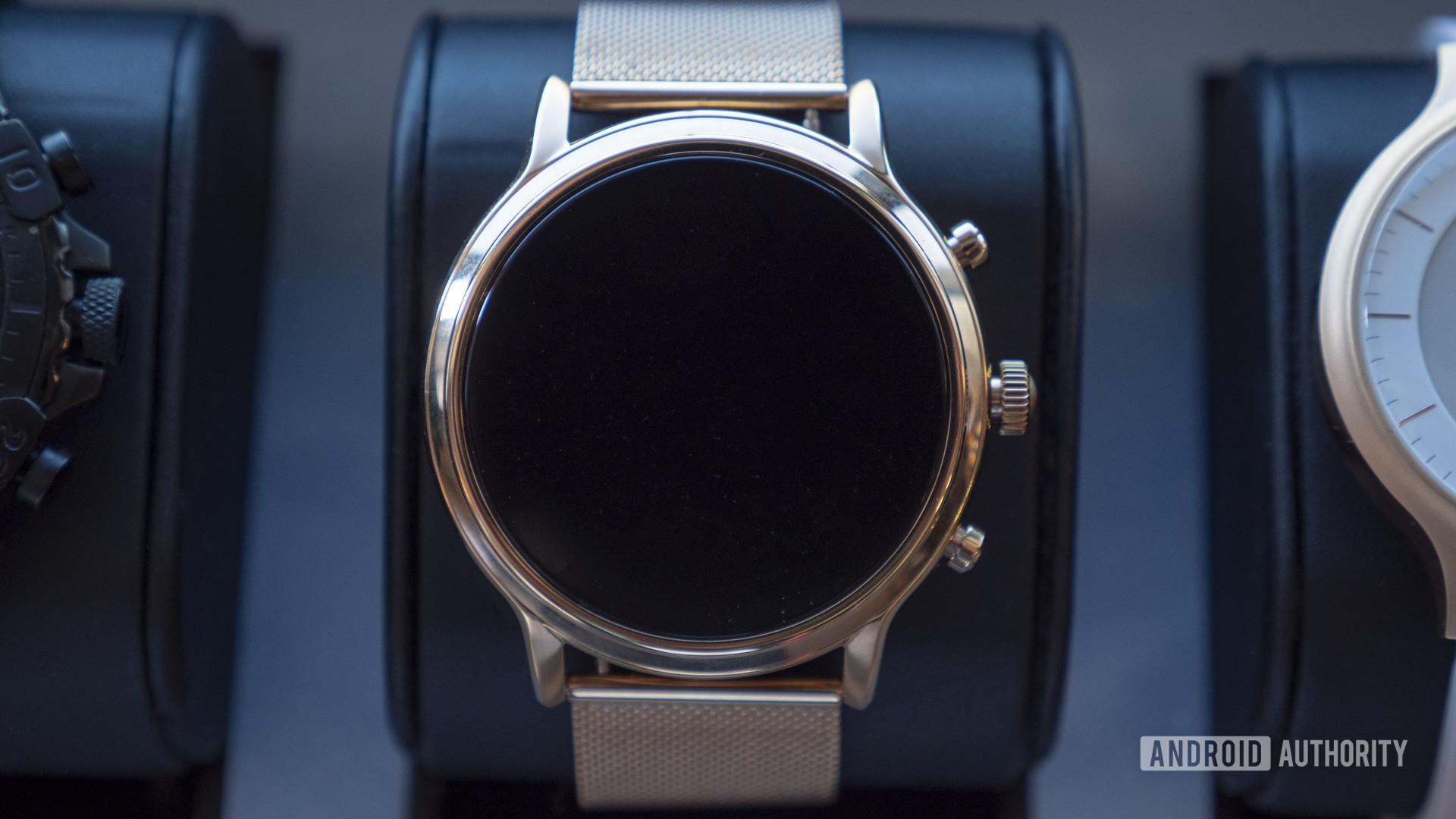 fossil gen 5 smartwatch julianna rose gold