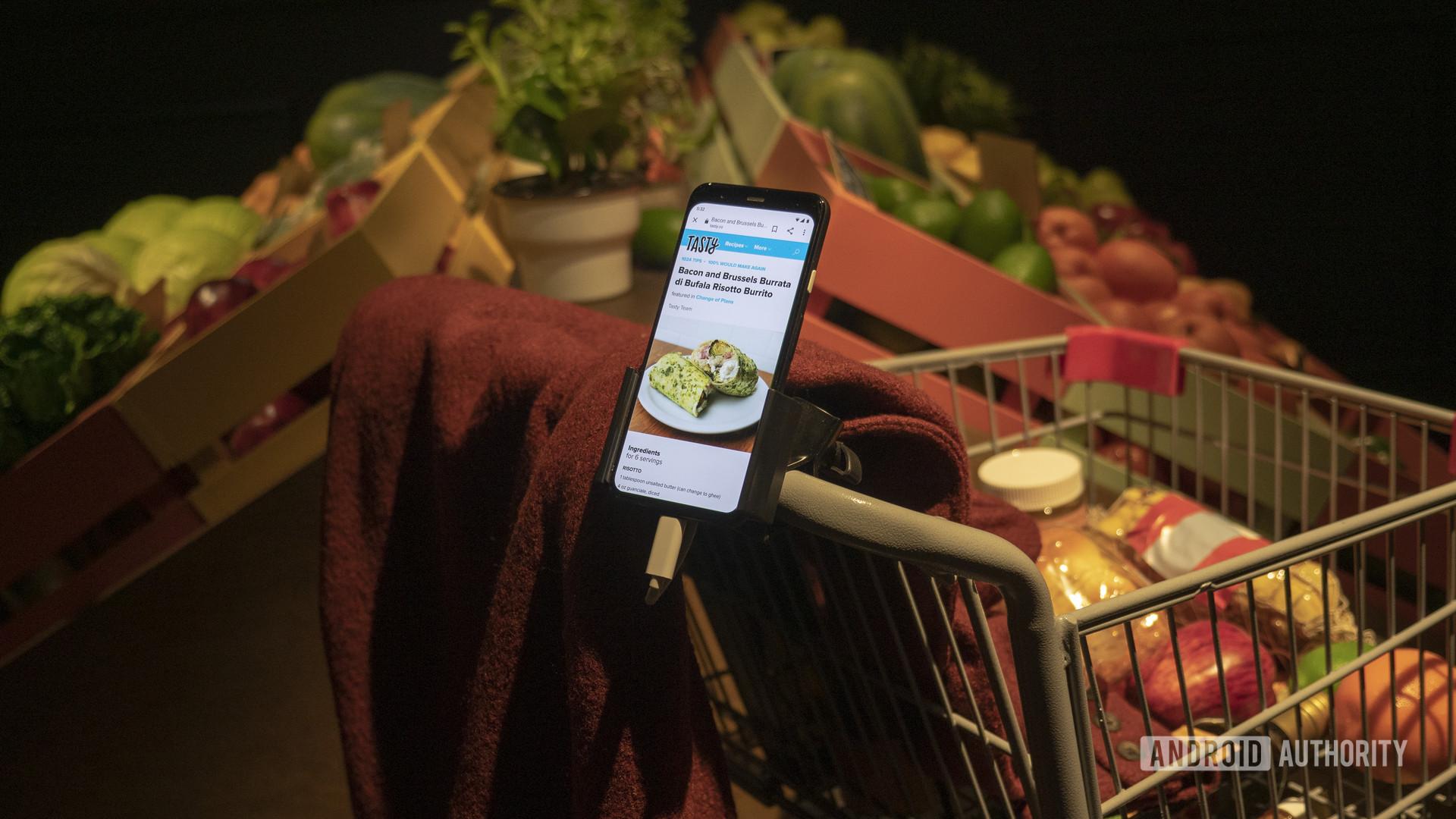 google pixel 4 shopping voice assistant ces 2020