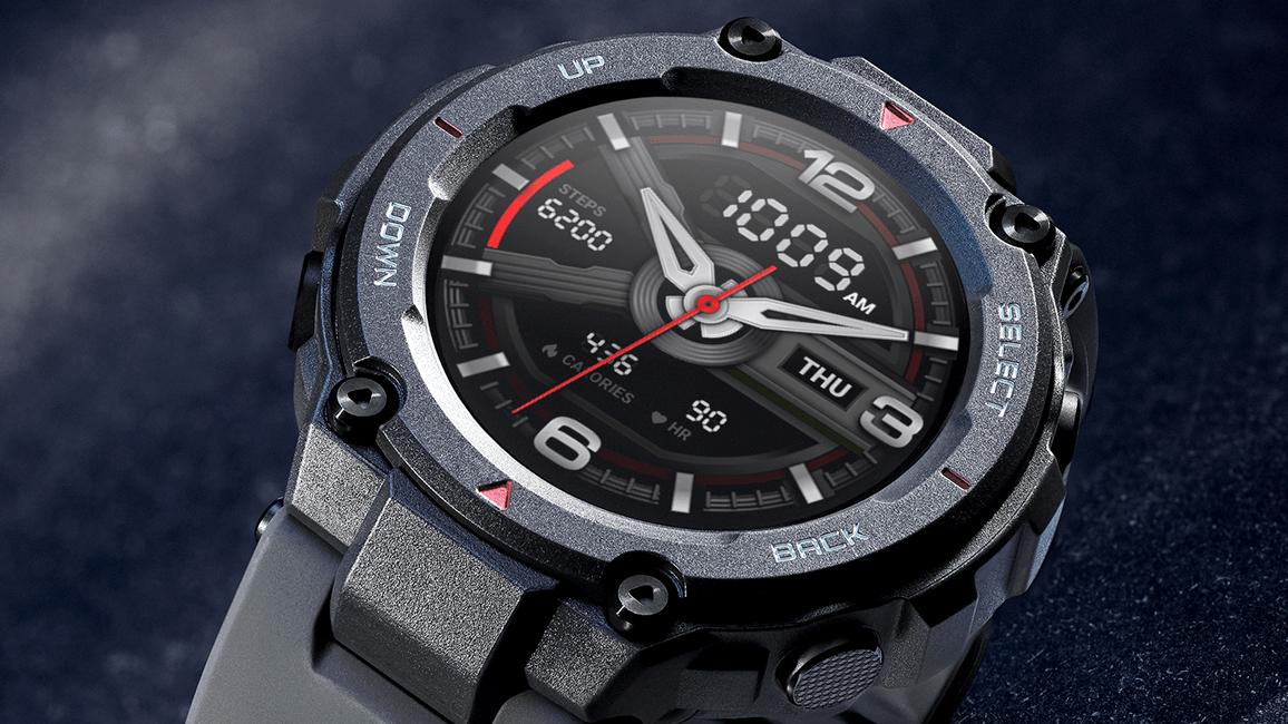 huami amazfit t rex smartwatch press image