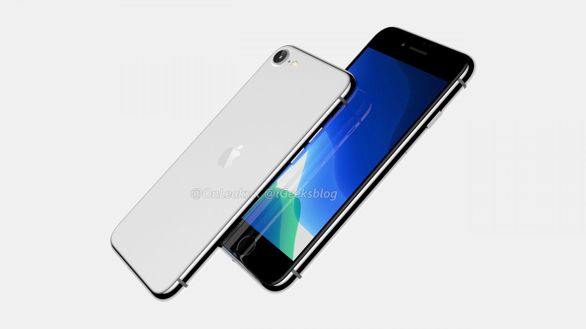 iPhone SE 2 leaked renders 1