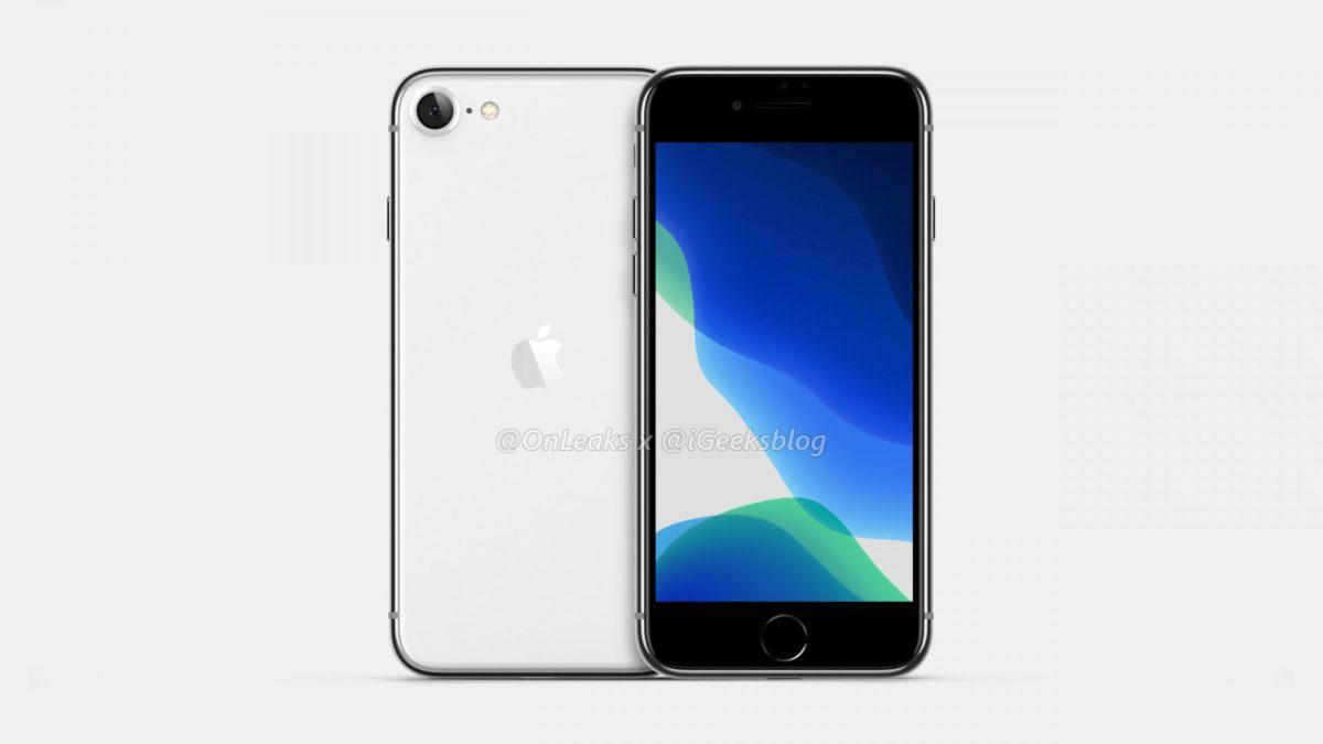 iPhone SE 2 leaked renders 4