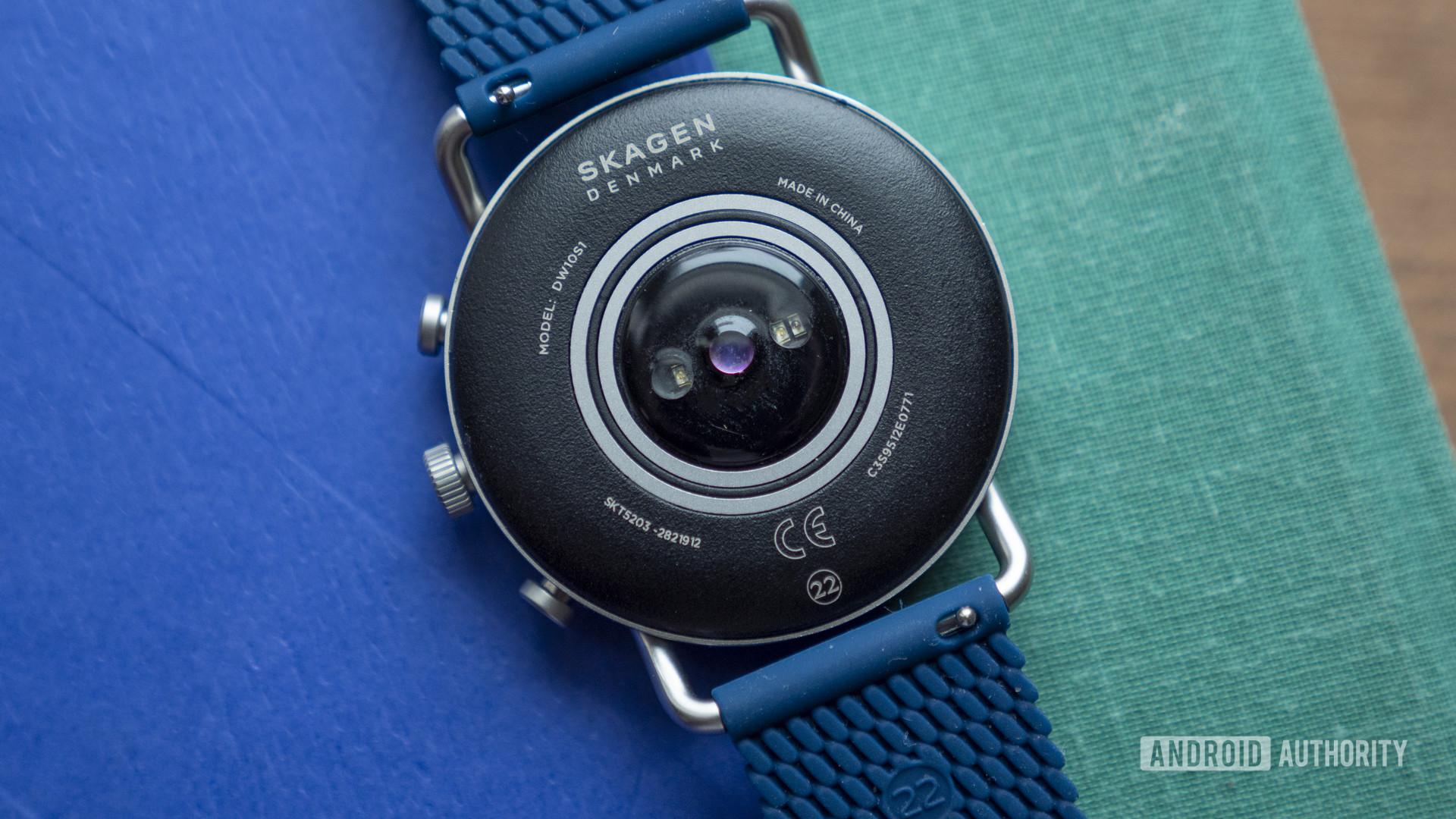 skagen falster 3 review heart rate sensor