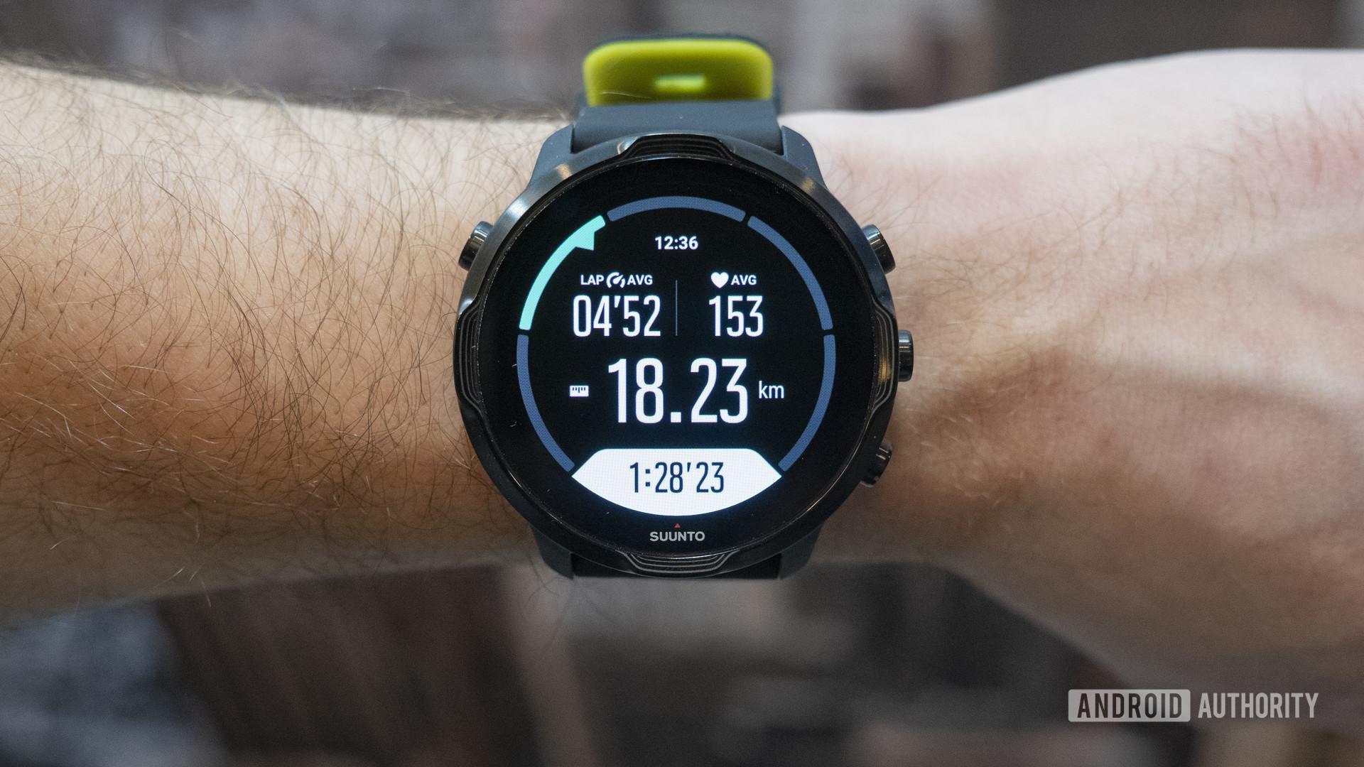 suunto 7 run tracking