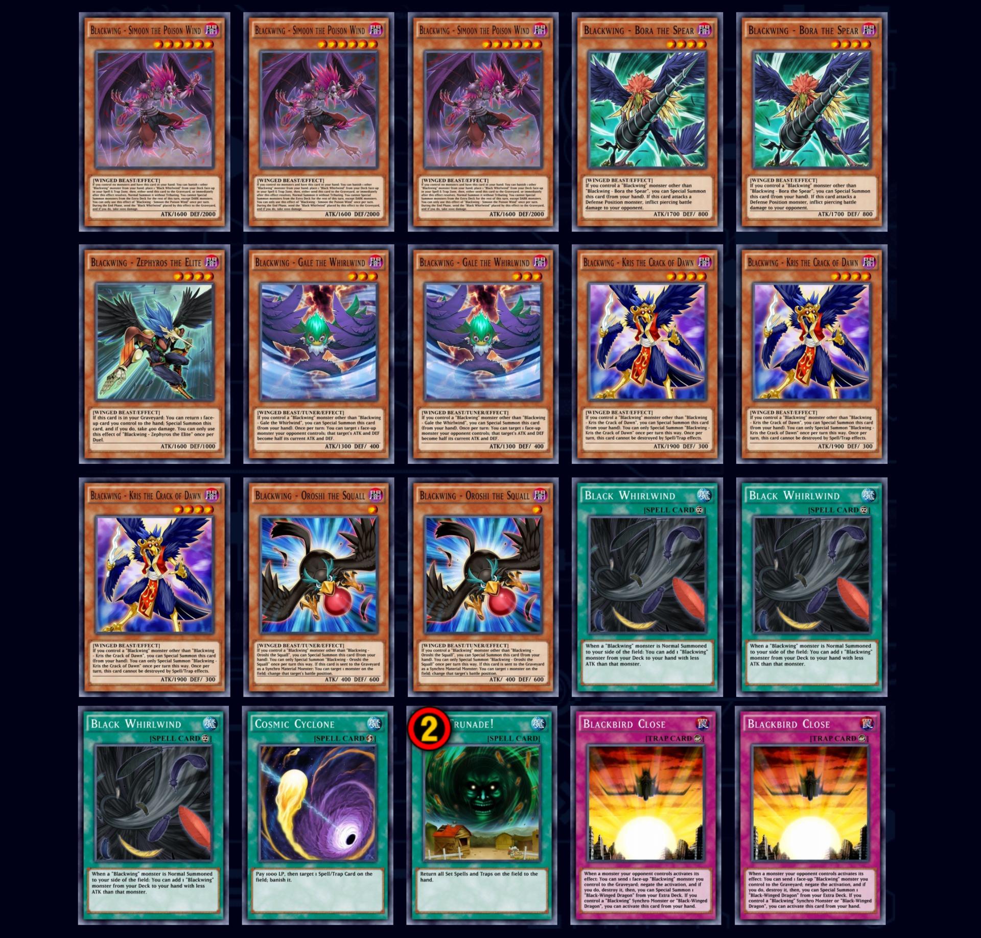 Blackwing best Duel Links decks