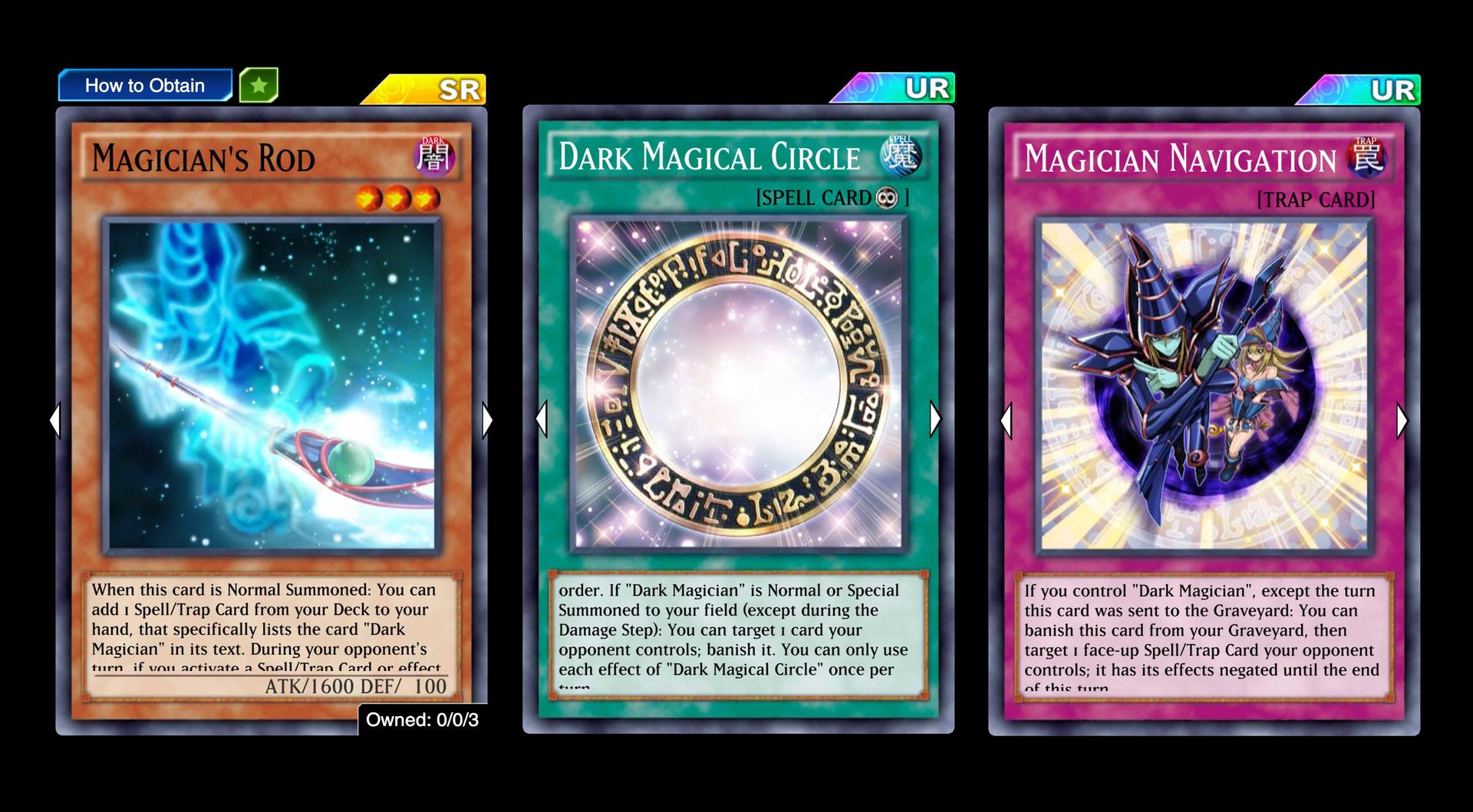 Dark Magician deck core cards