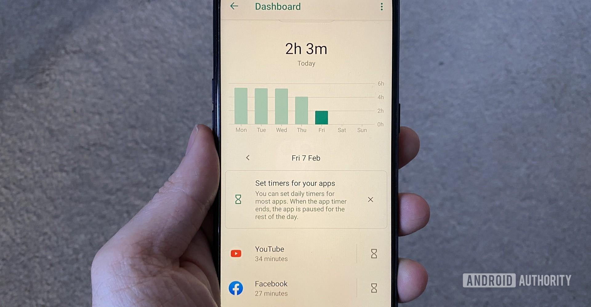 Digital Wellbeing Google App