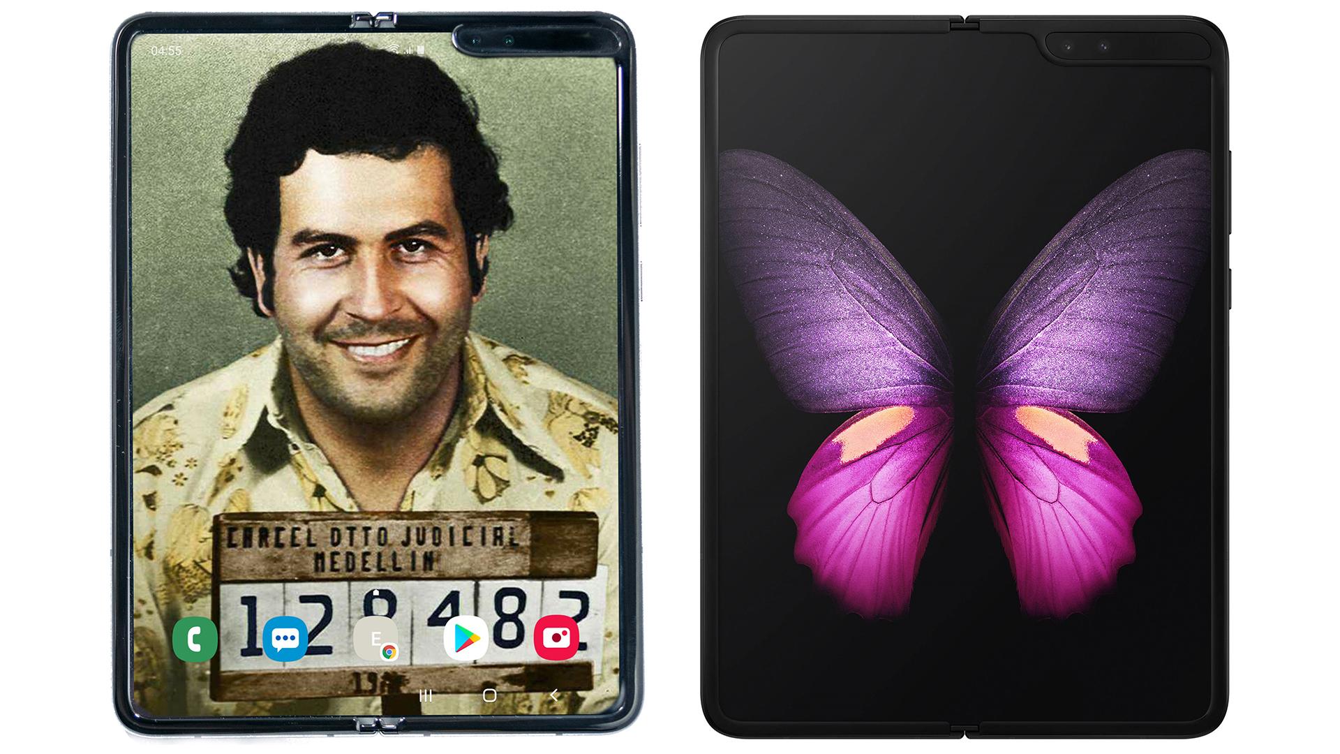 Escobar Fold 2 Next to Samsung Galaxy Fold