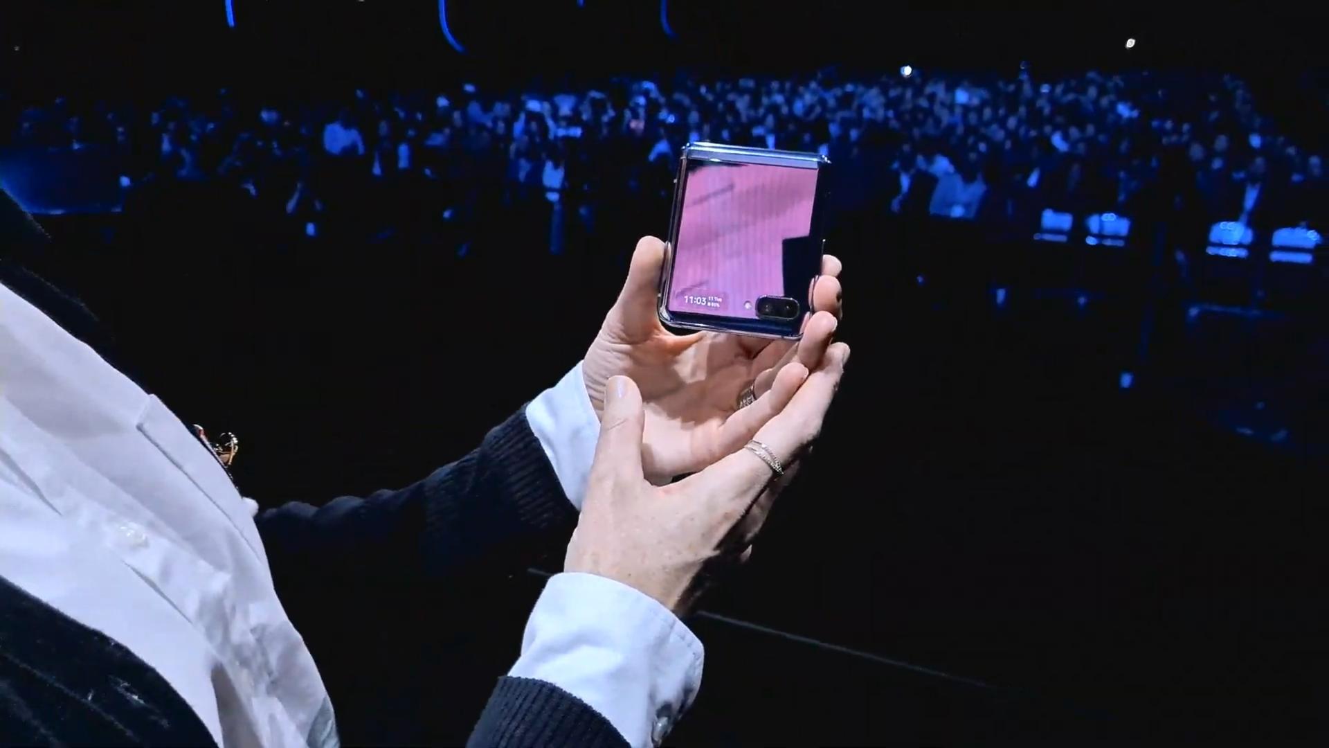 Galaxy Z Flip Samsung Unpacked 2020