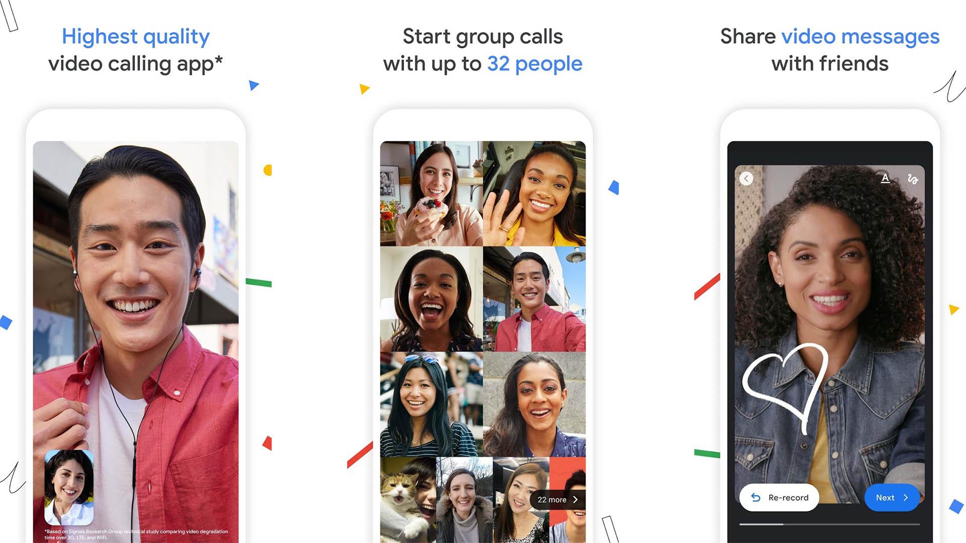 Google Duo screenshot 2021