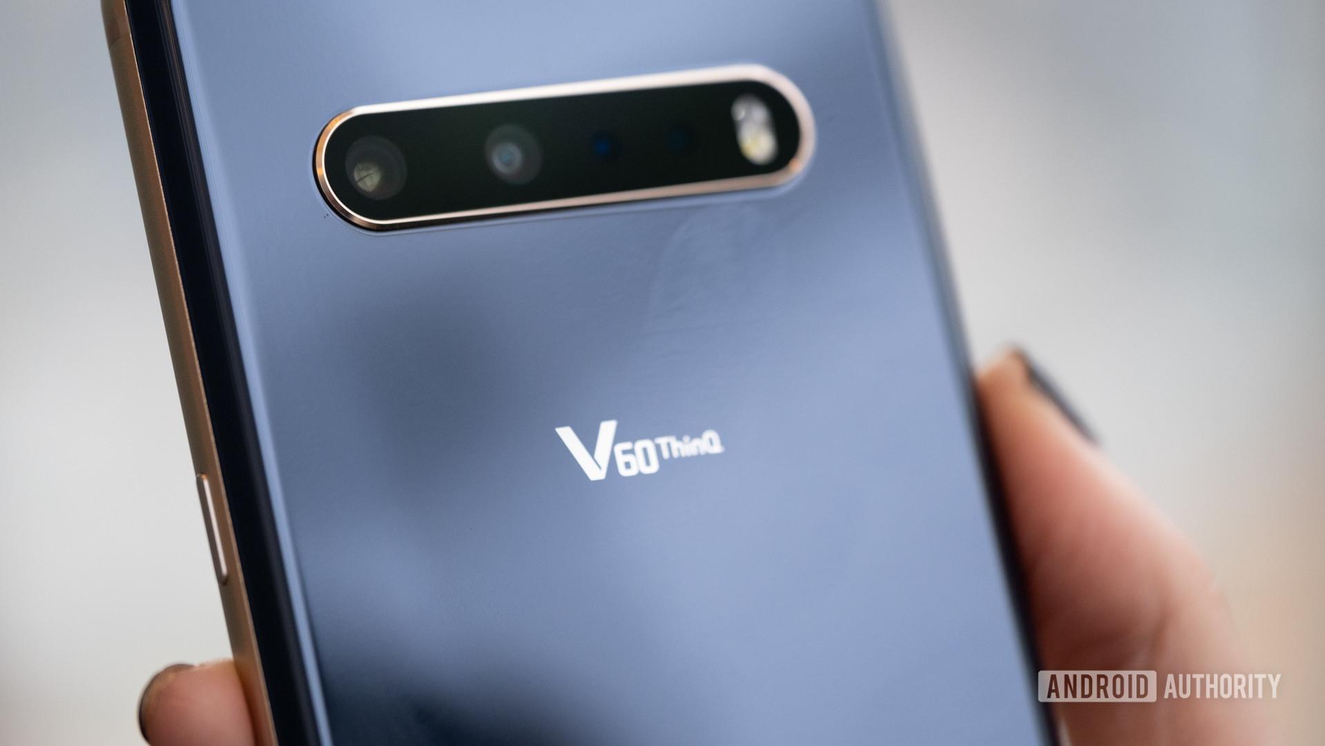 LG V60 camera and logo macro 1