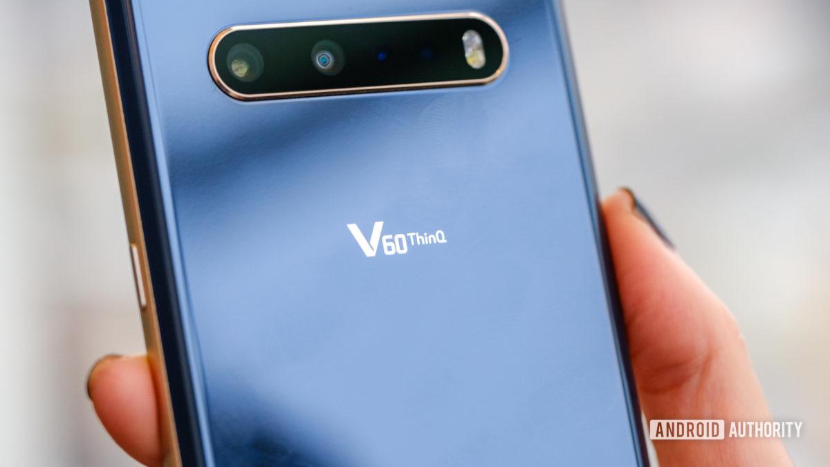 LG V60 camera and logo macro 2