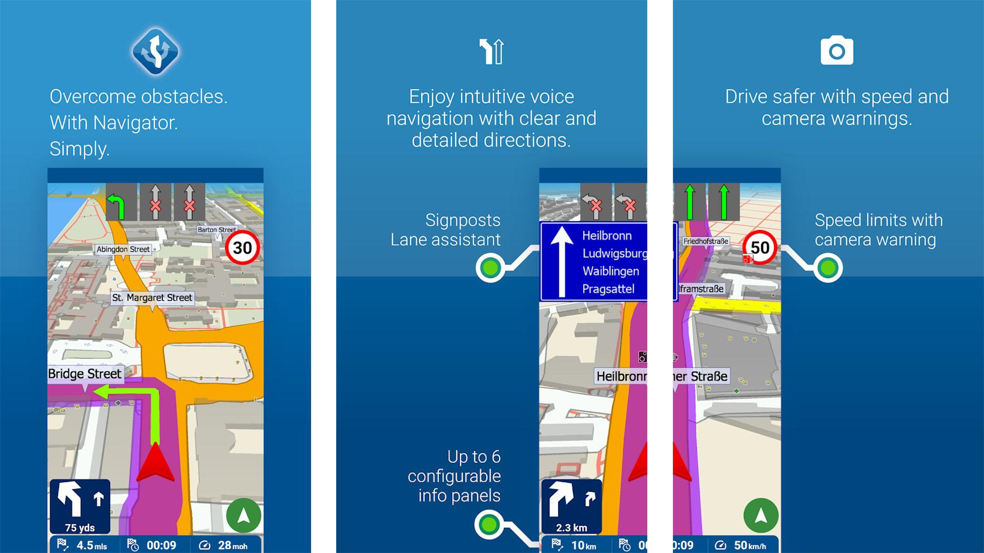 MapFactor screenshot 2020