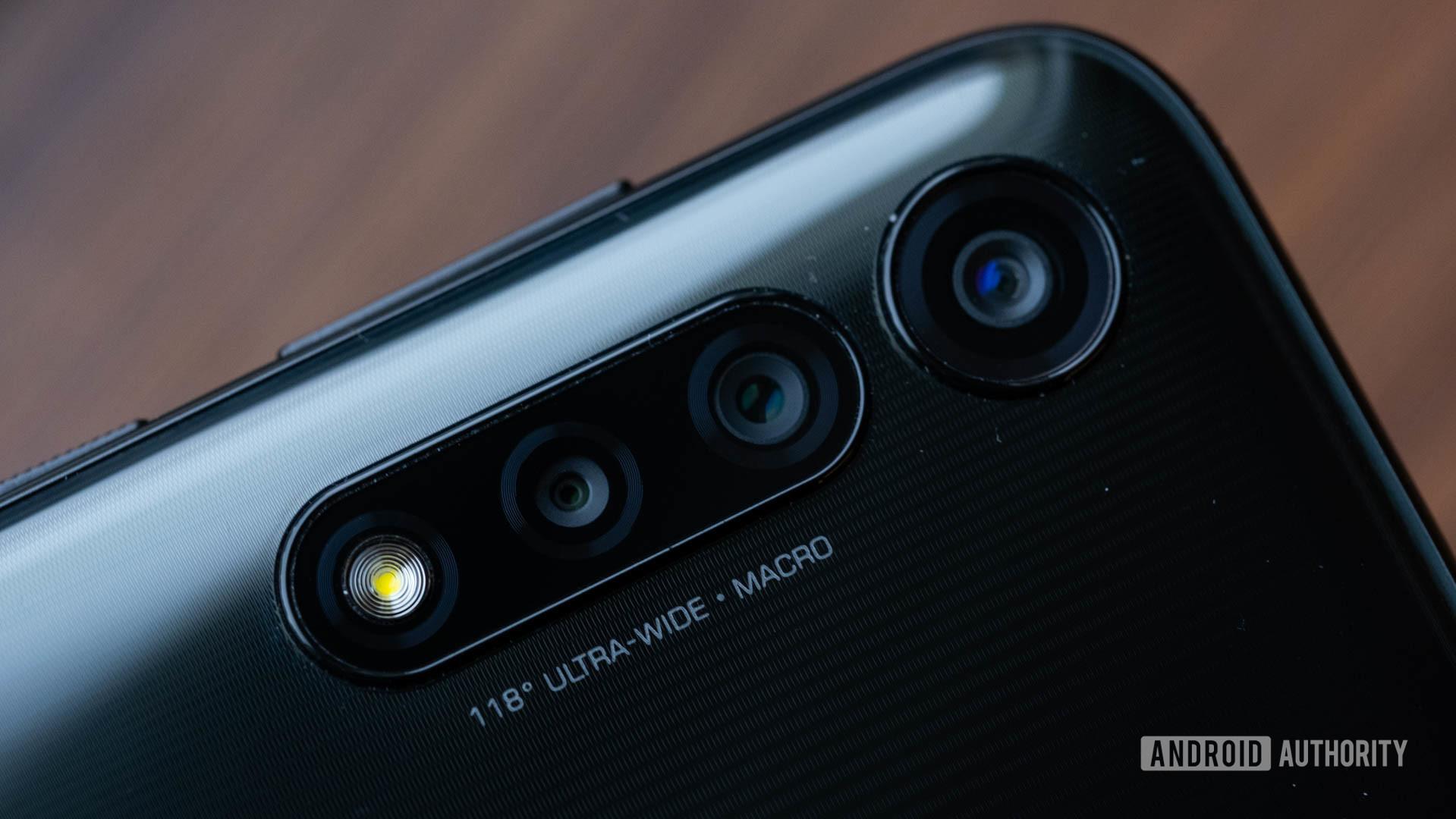 Moto G Power cameras macro
