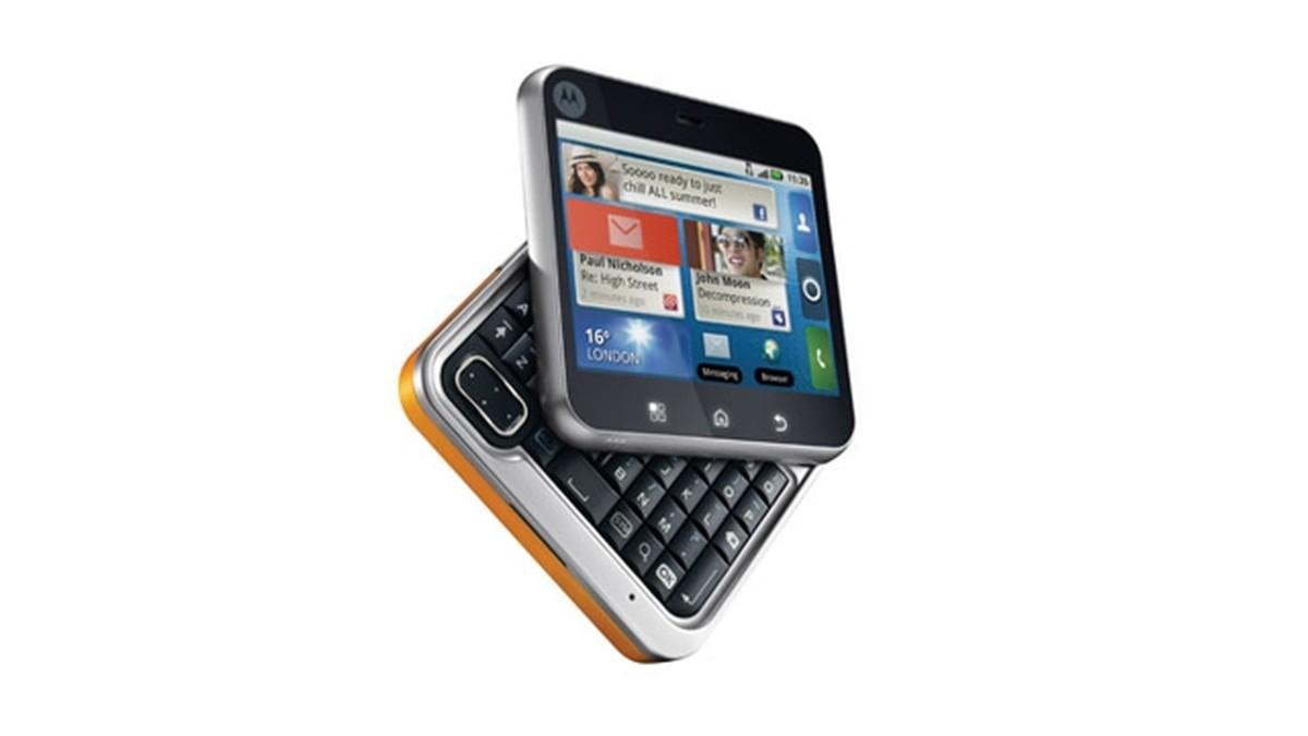 Motorola Flipout retro foldable