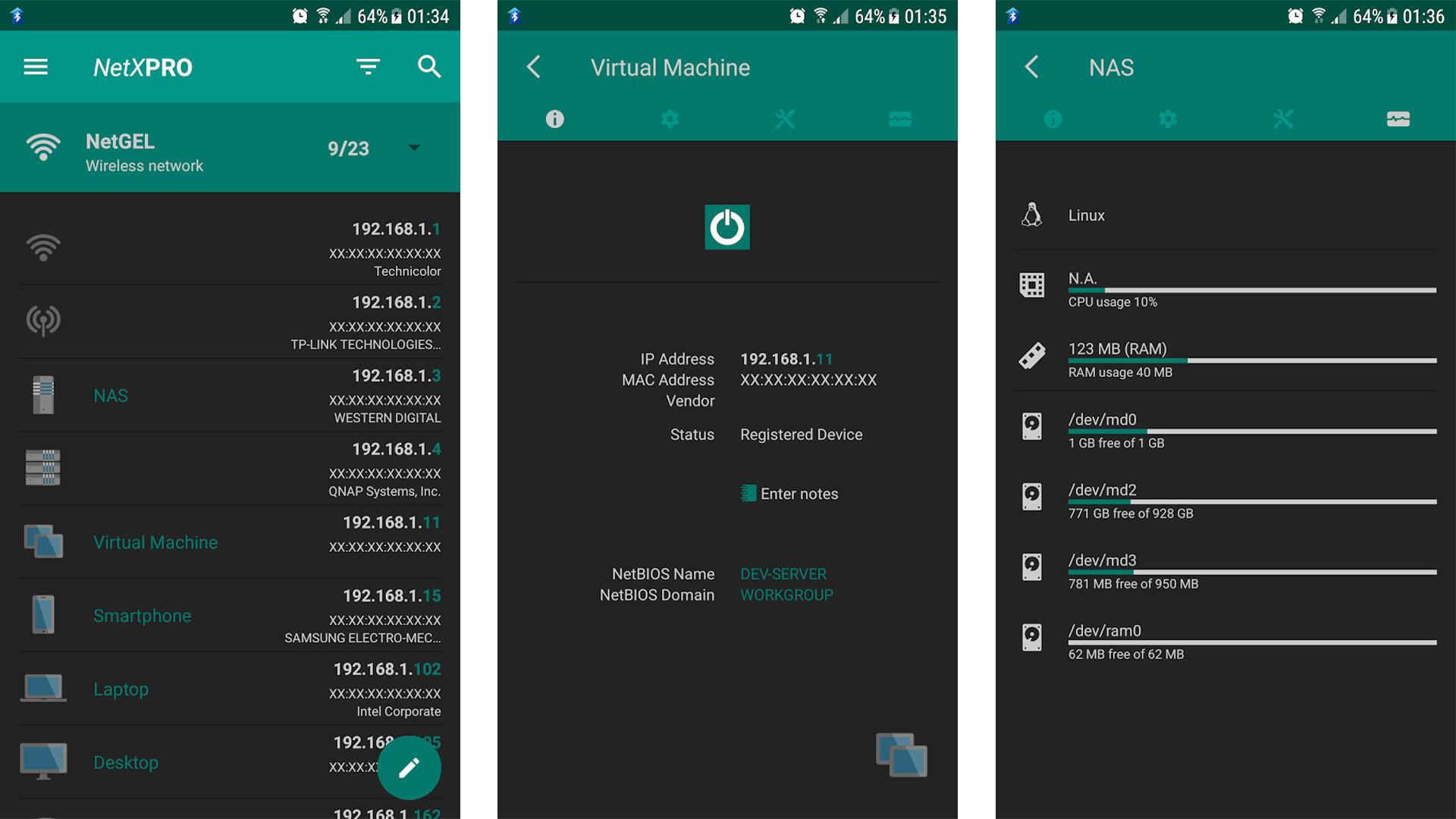NetX Network Tools Pro screenshot