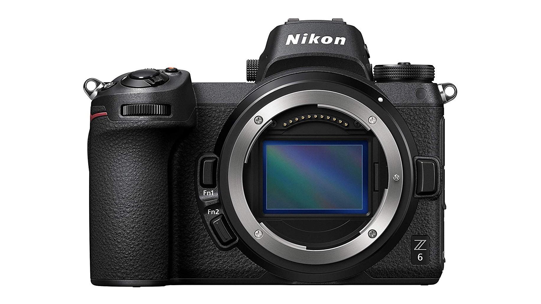 Nikon Z6 mirrorless camera body with no lens