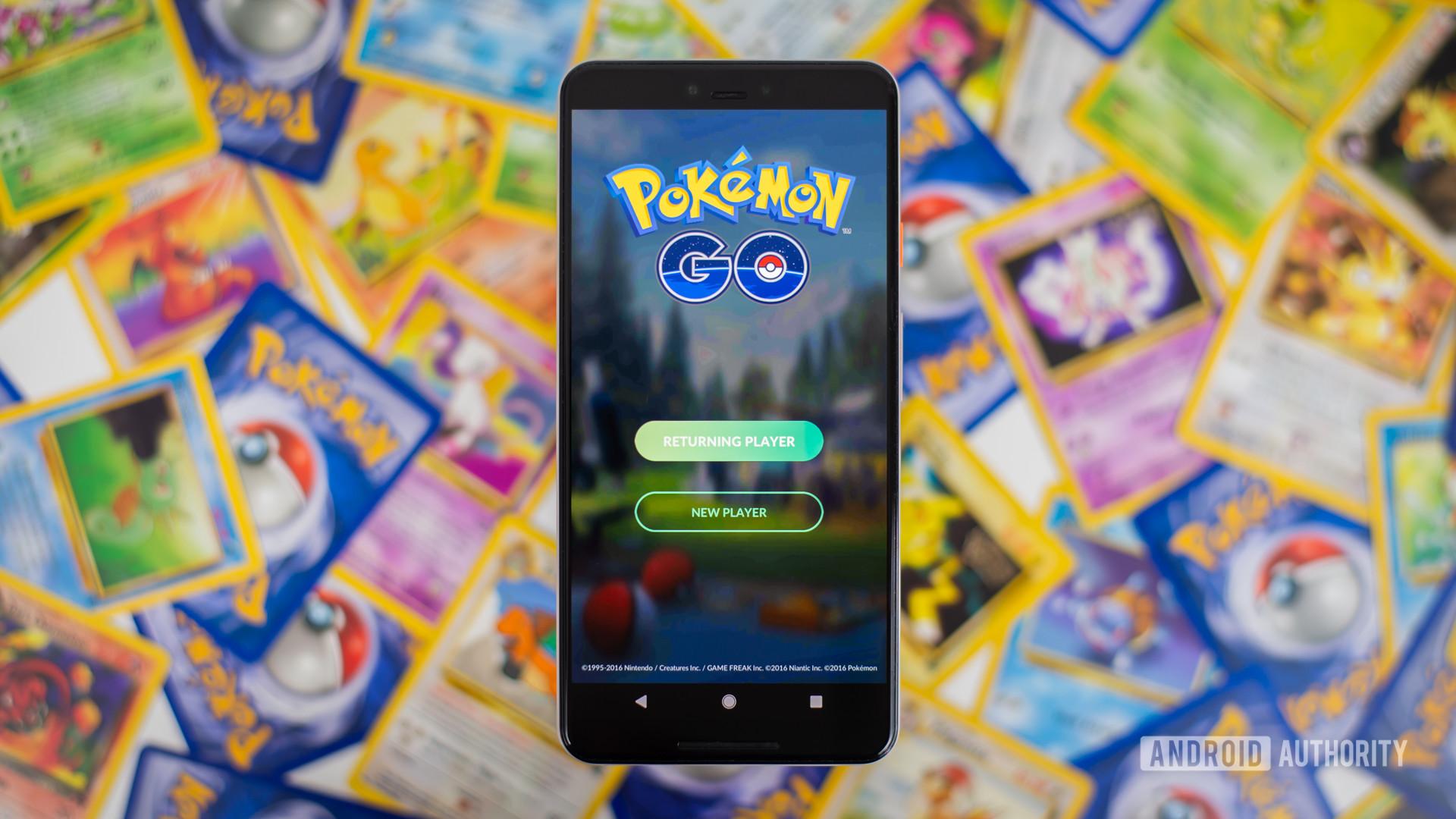 Pokemon Go stock photo 1