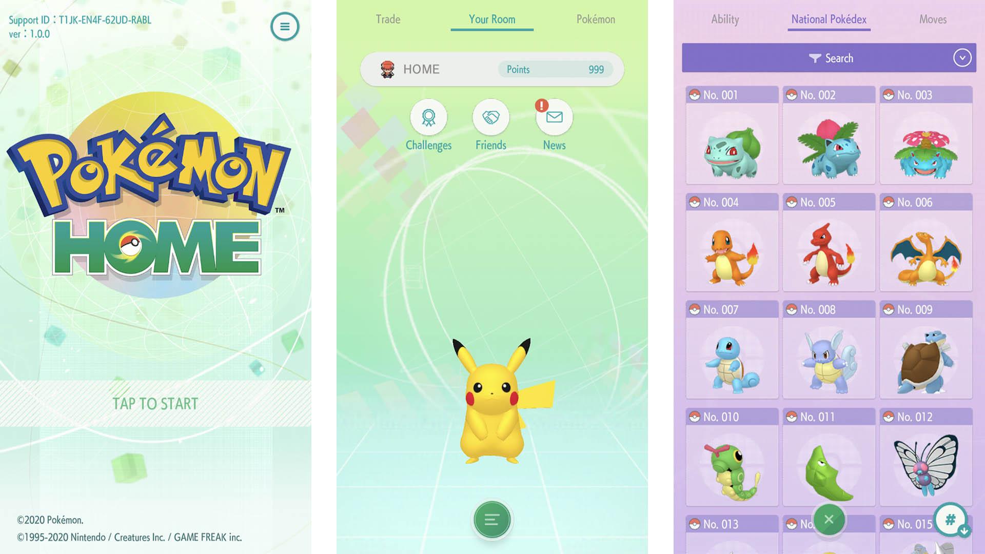 Pokemon Home screenshot