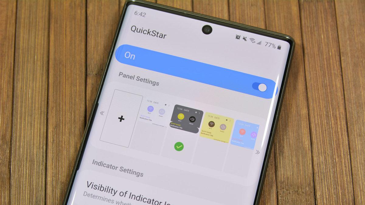 QuickStar Samsung Good Lock