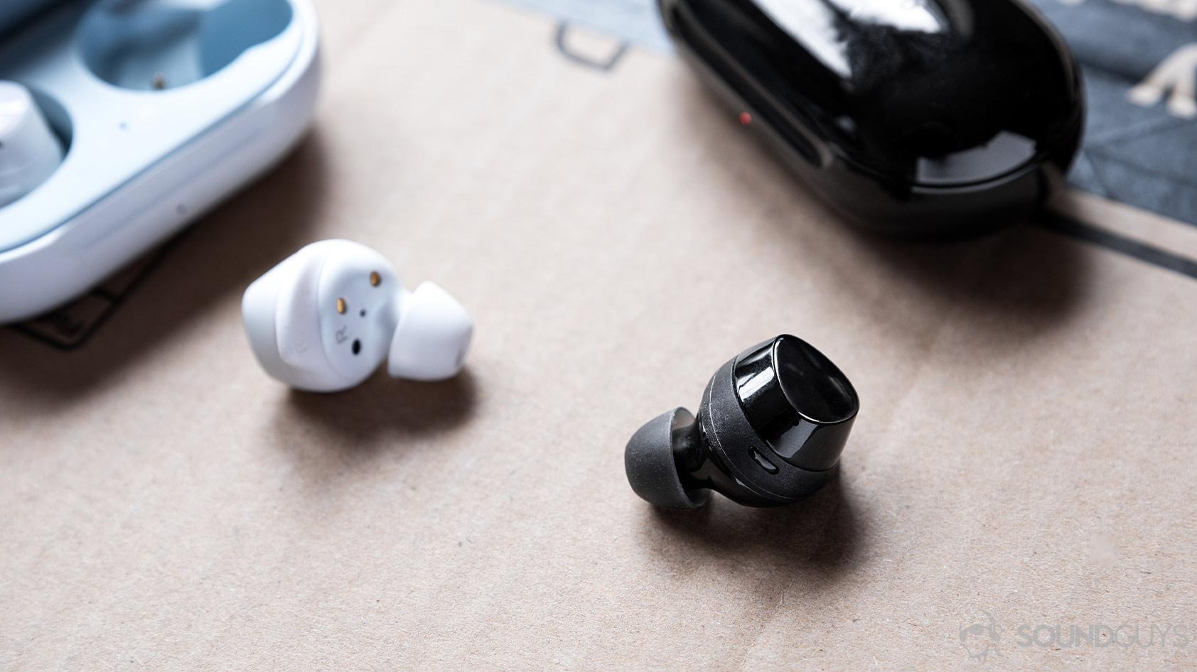 Samsung Galaxy Buds Plus vs Galaxy Buds true wireless earbuds touch controls