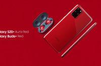 Samsung Galaxy S20 Plus Aura Red