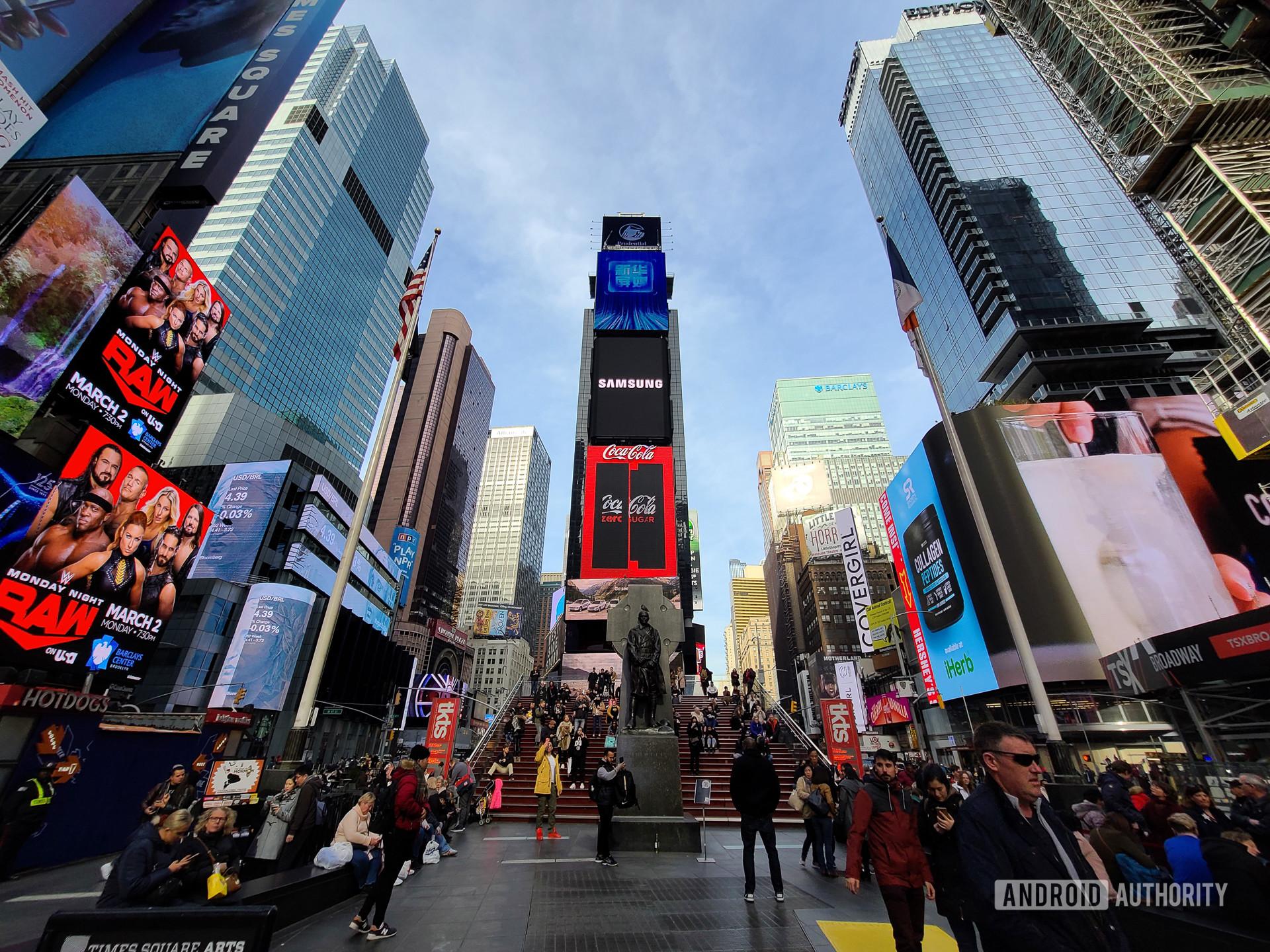 Samsung Galaxy S20 Ultra 5G photo sample NYC