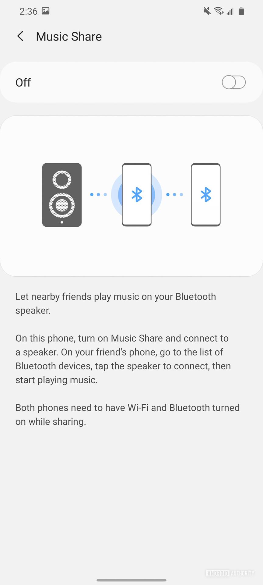 Samsung Galaxy S20 Ultra Music Share 1