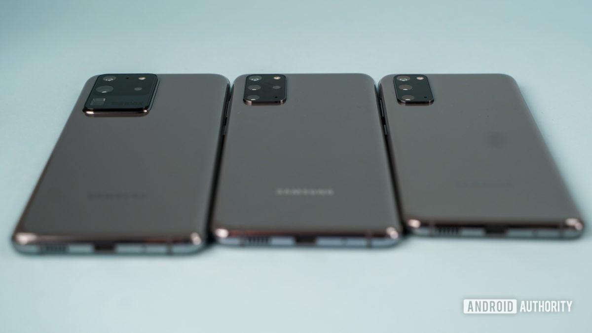 Samsung Galaxy S20 family profile