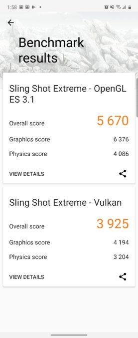 Samsung Galaxy Z Flip 3DMark Score