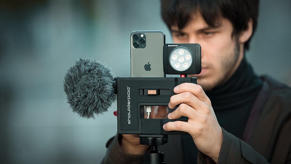 Shoulderpod G2 rig film making shooting