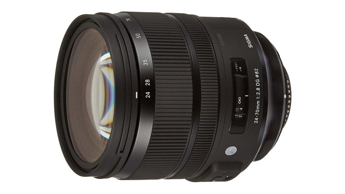 Sigma 24 70mm F2.8 Art DG OS HSM lens