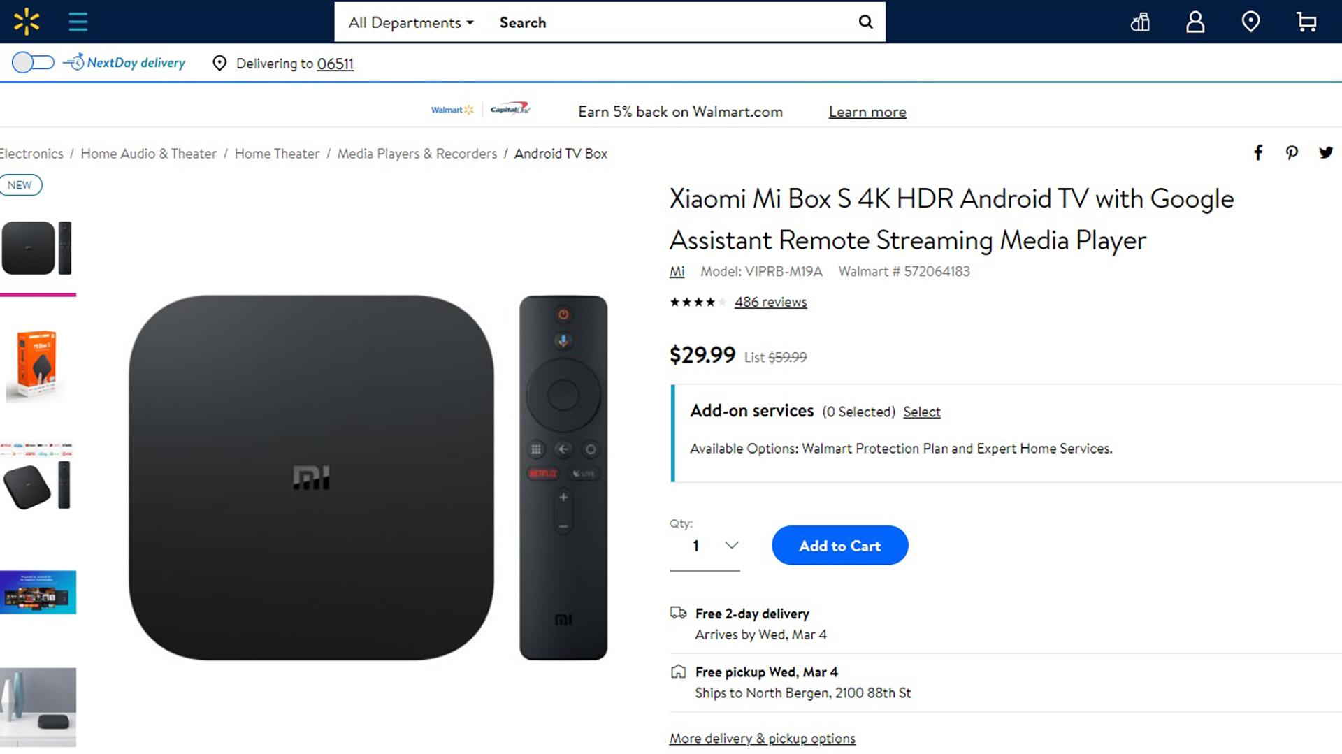 Xiaomi Mi Box S Deal February 2020