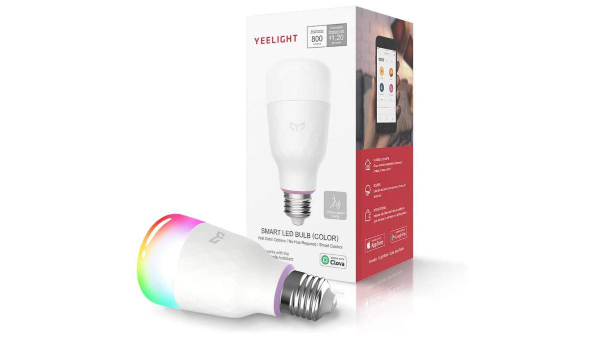 Xiaomi Yeelight Smart LED Multi color Bulb