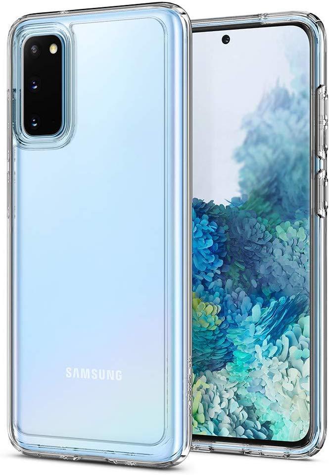 best galaxy s20 clear cases spigen ultra hybrid