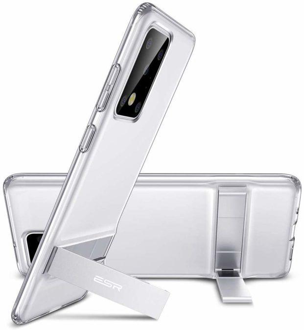 esr tpu case with metal kickstand