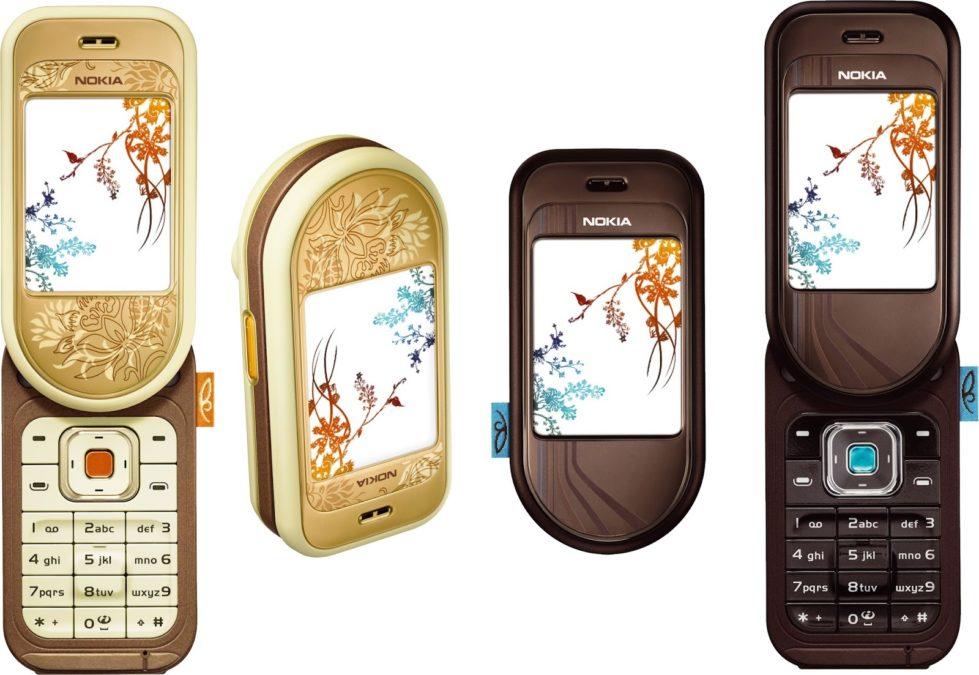nokia 7370 retro phone