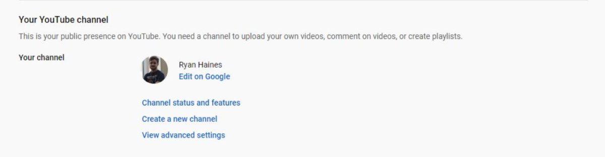 youtube edit on google