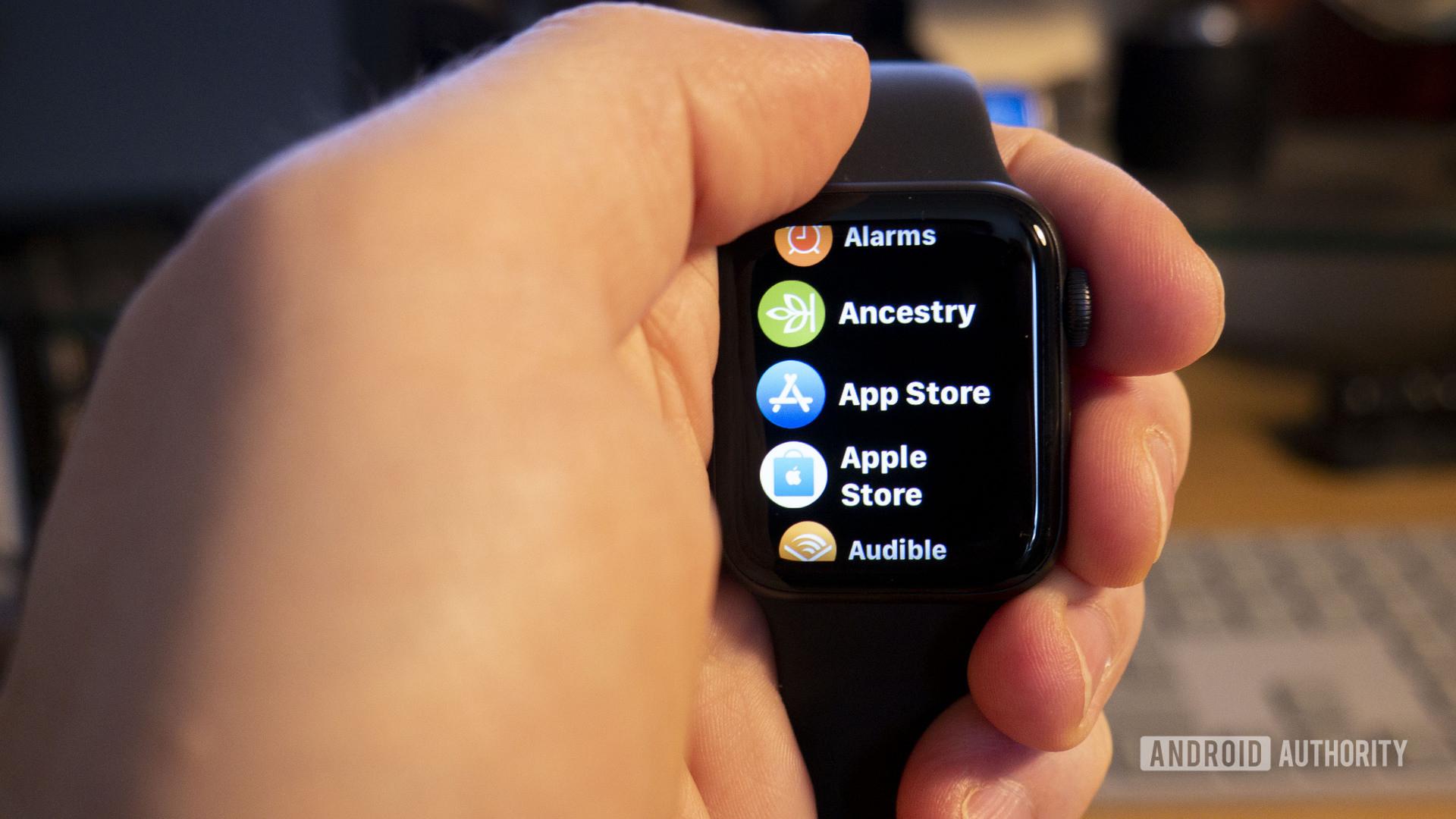 Apple Watch App List